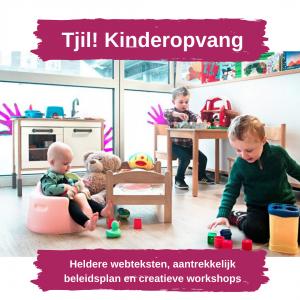Tjil Kinderopvang heeft oog voor alle kinderen en hun welbevinden.